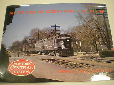 NEW YORK CENTRAL SYSTEM RAILROAD HISTORICAL CALENDAR 1998 Mint Condition