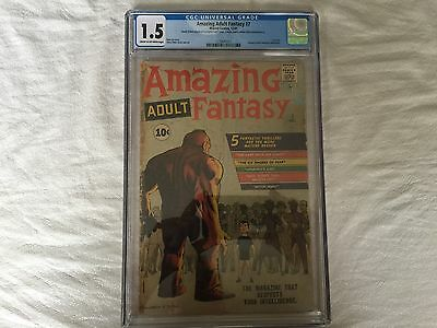 Amazing Adult Fantasy #7--CGC 1.5--First issue (used to be Amazing Adventures)