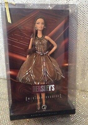 Hersheys America's Favorite Barbie Doll Silver Label 2008 Mattel N5004 Mint Nrfb