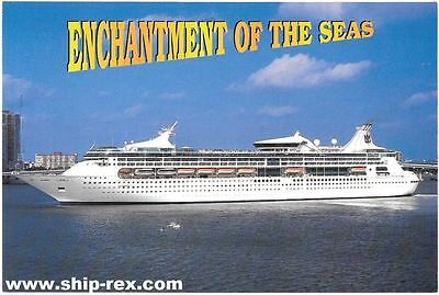 ENCHANTMENT OF THE SEAS (Royal Caribbean) - company postcard