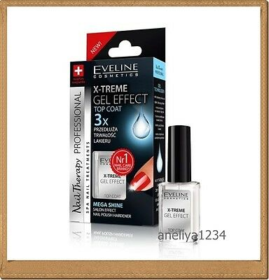 Professional Nail Conditioners EVELINE Nail   X-TREME GEL EFFECT TOP COAT