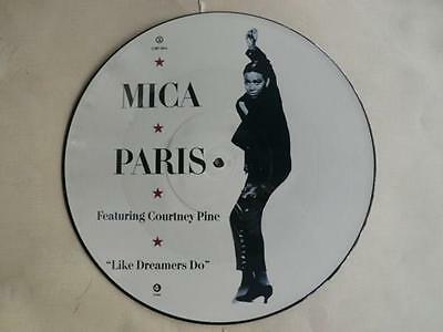 "MICA PARIS feat. Courtney Pine - Like dreamers do - 12"" Picture Disc - new!"