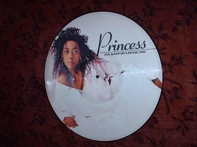 "PRINCESS I'll keep on loving you - 12"" Picture Disc 1986 - new!"