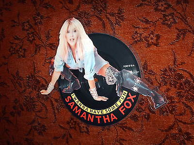 SAMANTHA FOX I wanna have some fun - SHAPED Picture Disc - new!