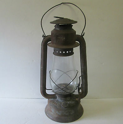 Vintage Antique Primitive Canada Rustic Large Beacon Gsw Windproof Barn Lantern