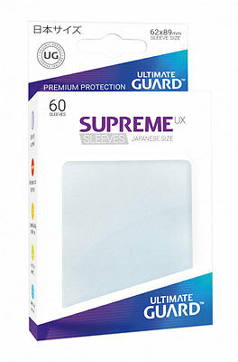 60 Pochettes Supreme UX Sleeves small jap Frosted Ultimate Guard Yu-Gi-Oh!