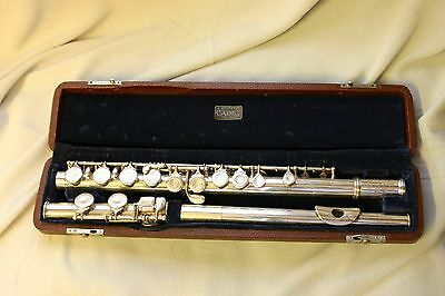 Flute USA American H. Bettoney Cadet Vintage Silver Plated