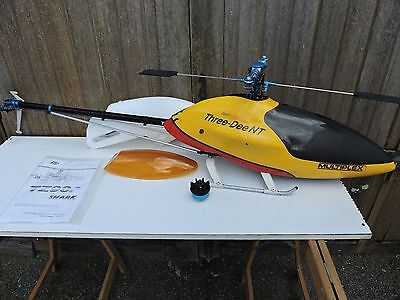 Helicoptere Rc Tz 90 Shark Classe 700