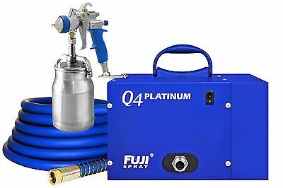3004-T70 Fuji Spray Q4™ PLATINUM  HVLP System - With FREE Gun Cleaning Kit