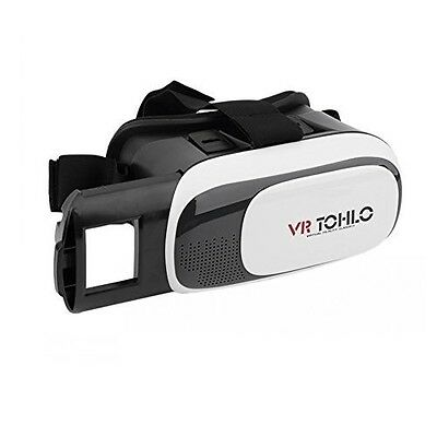 3D VR Glasses for iPhone Galaxy 4-6 inch Smartphones Virtual Reality Headset-17
