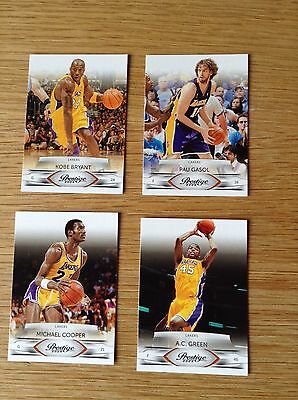 Job Lot Kobe LA Lakers NBA Basketball Trading Card Panini Prestige 2009