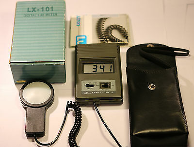 Lt Lutron Lx-101 Digital Lux Meter (Wide Range Portable Type )