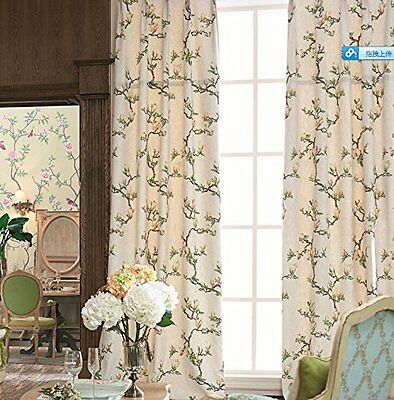 """42""""W x 84""""L Set of 2 panels Multi Size Available Custom Country Rustic Print Top"""