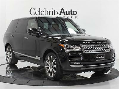 2015 Land Rover Range Rover Autobiography LWB Executive Rear 2K Miles 2015 LAND ROVER RANGE ROVER AUTOBIOGRAPHY LWB EXECUTIVE REAR SEATS