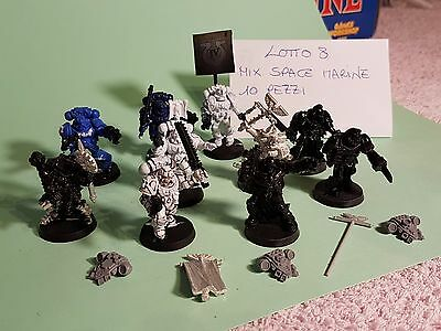 Warhammer 40K  10 Space Marine Lotto 8