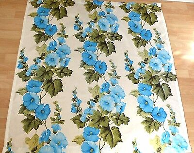 VINTAGE RETRO 60s/70s style flower fabric