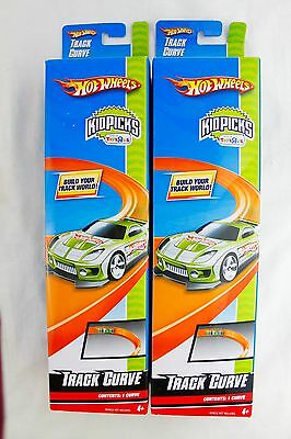 HOT WHEELS Kid Picks Track Curve Set F Lot of 2