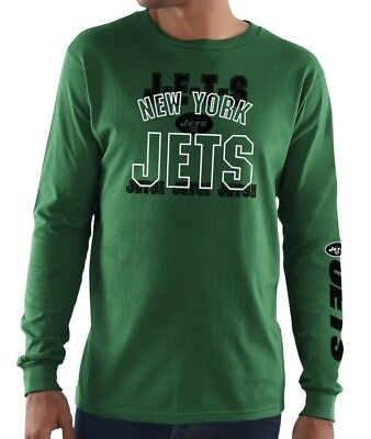 0e7b3e361 NEW YORK JETS Majestic Primary Receiver Long Sleeve Tee - NWT - FREE ...