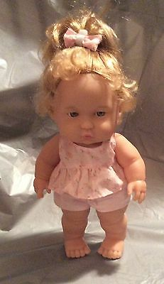 "Berenguer Lots to Love Baby Steps  10"" Chubby Toddler Doll 16-04"