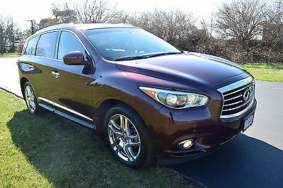 2013 Infiniti JX  2013 INFINITI JX35 LUXURY EDITION FULLY LOADED CLEAN