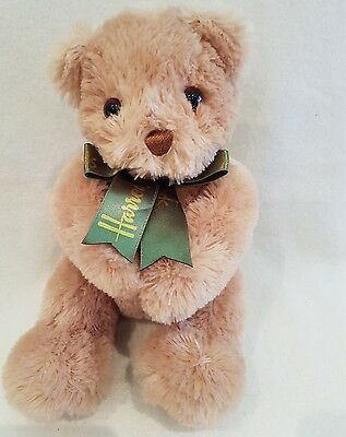 "Harrods teddy bear 10"" new posable arms rare collectors"
