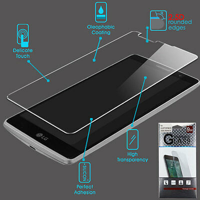LG G Stylo 2 V ShockProof Tempered Glass Screen Protector Film Guard Clear 2.5D