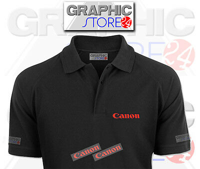 2x Canon Iron on Clothing Decals