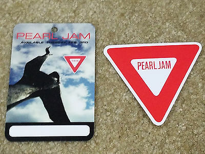 Pearl Jam Yield Sticker and Laminate + FREE Bonus!