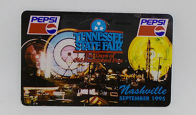 HT 1995 Tennessee State Fair - PEPSI LOGO Prepaid Phone Card