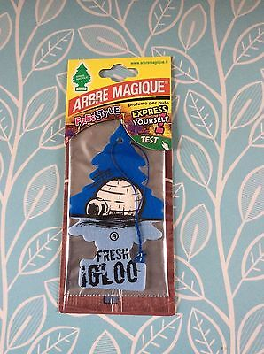 Magic Tree 'Fresh Igloo' Car Air Freshener BNAS