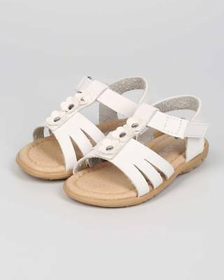 0a16f12aaa46 New Girl Jelly Beans Proud Leatherette Open Toe Daisy Strappy Flat Sandal