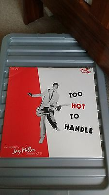To Hot To Handle - Jay Miller Sessions Vol.21  V/a-Dukes Of Rhythm/little Bob
