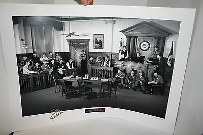 Limited Edition Vancouver Canucks NHL1993 print On Trial with Authenticity Seal