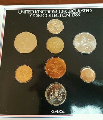 1983 Uncirculated United Kingdom Coin Set