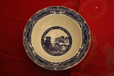 2 Ringtons Exclusive Willow Pattern soup / cereal / dessert bowls.