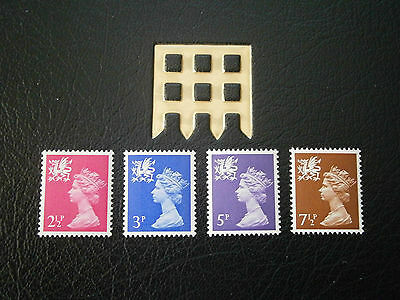 1971 Gb Stamps- Wales Definitives -Mnh
