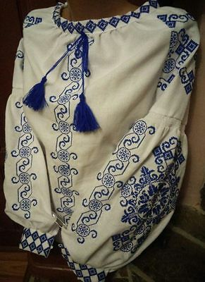 Ukrainian embroidery, embroidered blouse, Any Colour, XS - 4XL, Ukraine