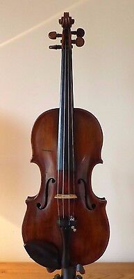 offer  SUPERB & RARE c18th ANTIQUE ENGLISH VIOLIN 4/4 - OLD CASE -  viola  cello