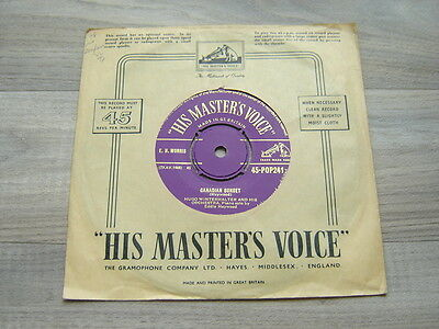 jazz7pop45 *HEAR* 50s easy *EX+* HUGO WINTERHALTER Canadian Sunset This Is Real