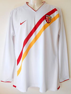 Lens Football Shirt 2007-08 Away Jersey Authentic Player Spec New no Tags XL