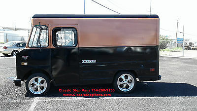 1972 Chevrolet P10 Step Van 1972 Chevy P10 StepVan Shorty Snub Nose Custom Paint SUPER RARE! Daily Driver