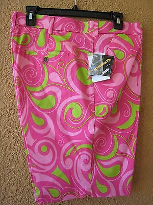 Loudmouth Men's Size 36 Cotton Candy Golf Shorts (Nwt)