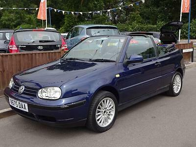 1999 Volkswagen Golf 1.8 S 2 Door Convertible