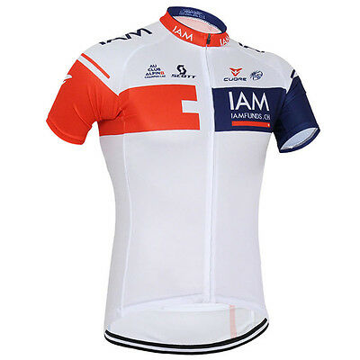 Outdoor Riding Bike Shirt Quick Dry Cycling Bicycle Jersey Mens Sportwear Tops