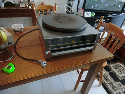 HARDLY USED Roller Grill Commerical Crepe Machine Maker Plate Pan 40cm 400mm
