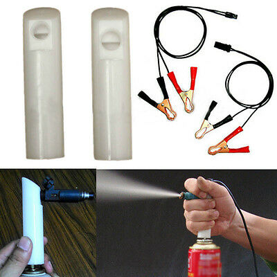 Universal Auto Car Vehicles Fuel Injector Flush Cleaner Adapter DIY Tool Kit Set