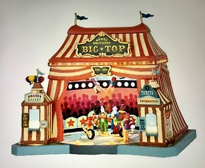 Lemax Carnival BERRY BROTHERS BIG TOP #55918 NIB Sights & Sounds Carnival