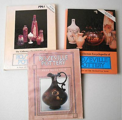 Collectors Encyclopedia Roseville Pottery Series 1 2 Price Guide Huxford Nickel