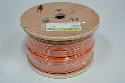 10.0mm 3 Core + Earth Orange Circular Electrical Cable PER MTR