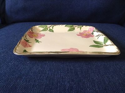 FRANCISCAN DESERT ROSE Square Serving Dish - Made in USA